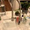 【グースネック】キッチンの混合水栓を自分でおしゃれなやつに交換した話【ヴィッメル